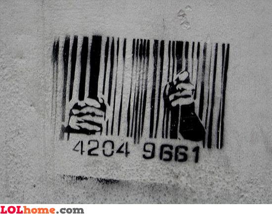 Codebar prison