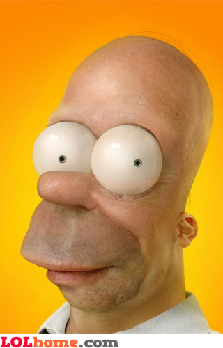 If Homer Simpson Was A Real Person