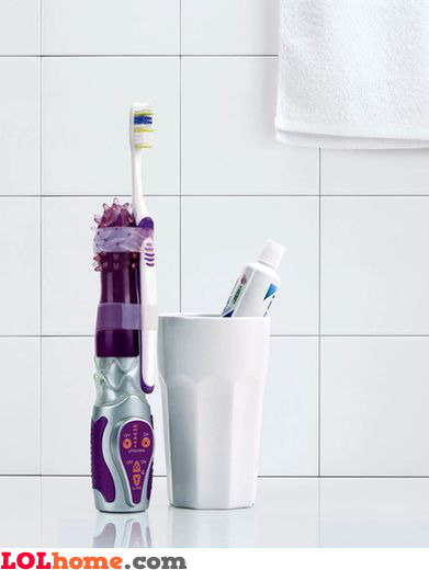 Vibrating toothbrush