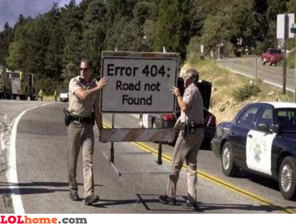 Road not found