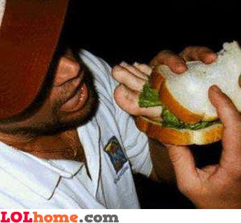 Foot sandwich