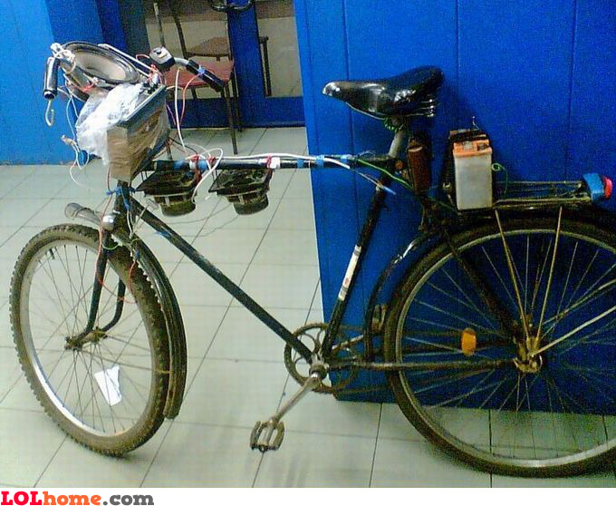 Bike surround system
