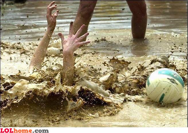 Mud football