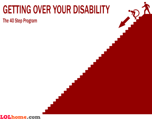 Getting over your disability