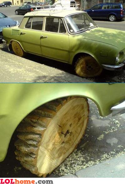 Flintstones' car