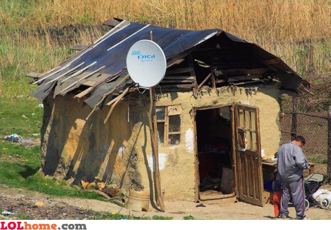 Satellite TV: first priority