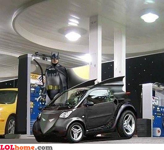 smart batmobile
