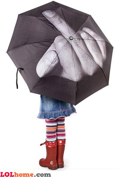 Screw you, rain!