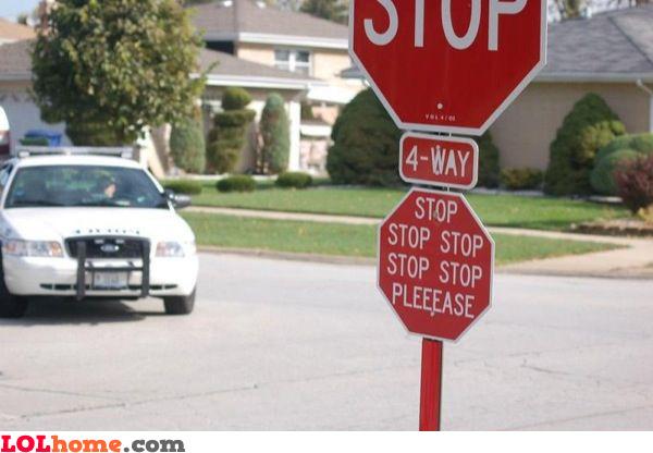 Stop pleeease