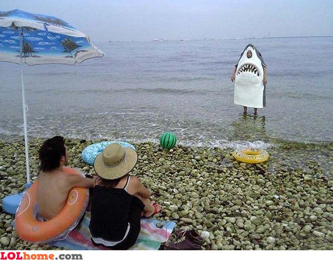 Shark attack Funny Shark Attack