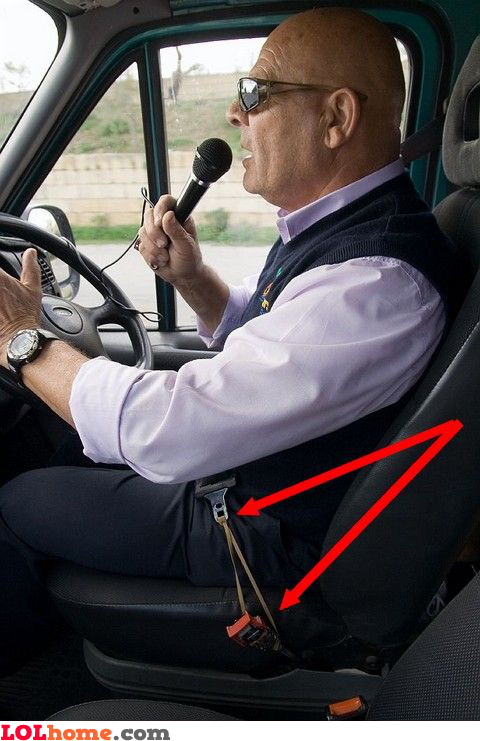 Seat belt fail