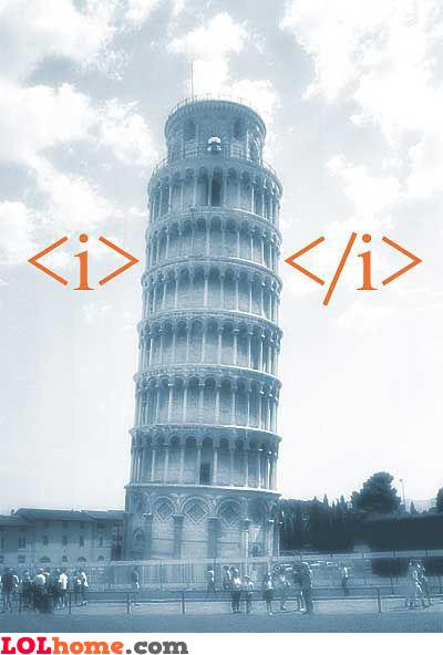 HTML emphasis