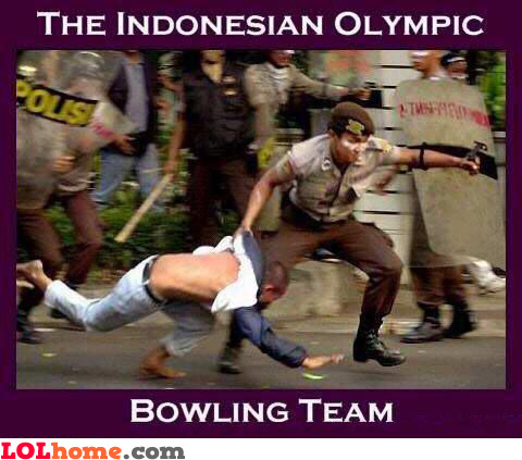 Indonesian olympic bowling team
