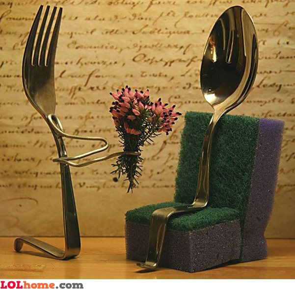 The fork's first date