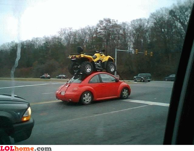 ATV on a Beetle