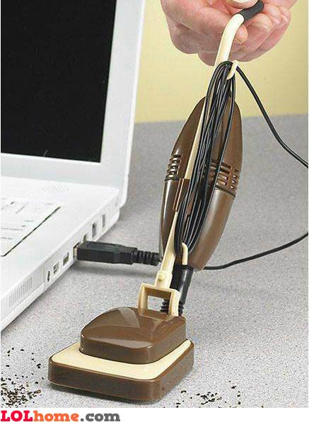 USB vacuum cleaner