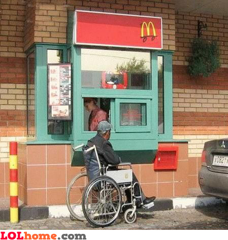 McDonalds drive-in