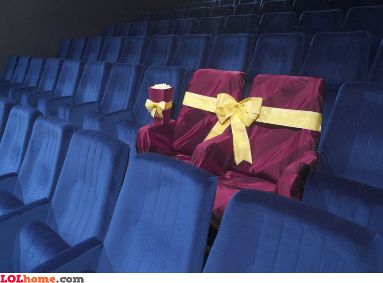 VIP cinema seats