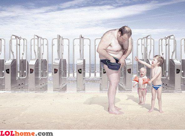 Beach tax