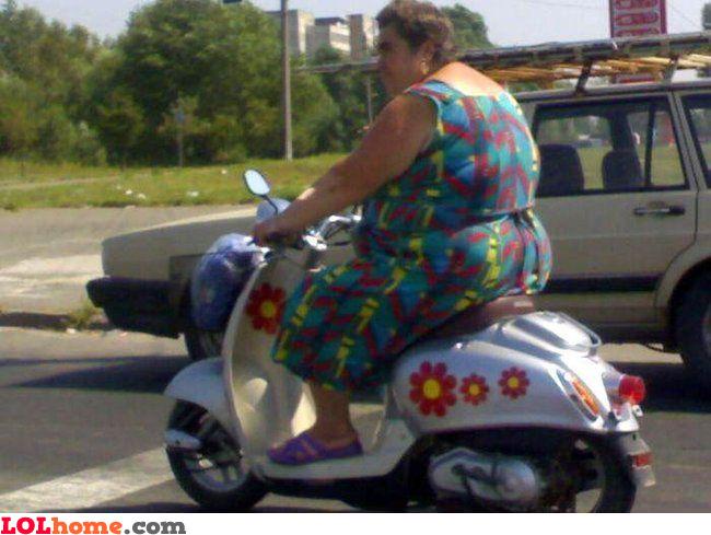 Poor scooter