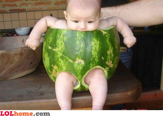 Watermellon suit