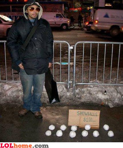 Cheap snowballs