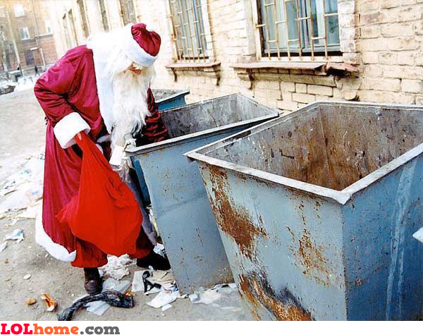 Where Santa gets the gifts from