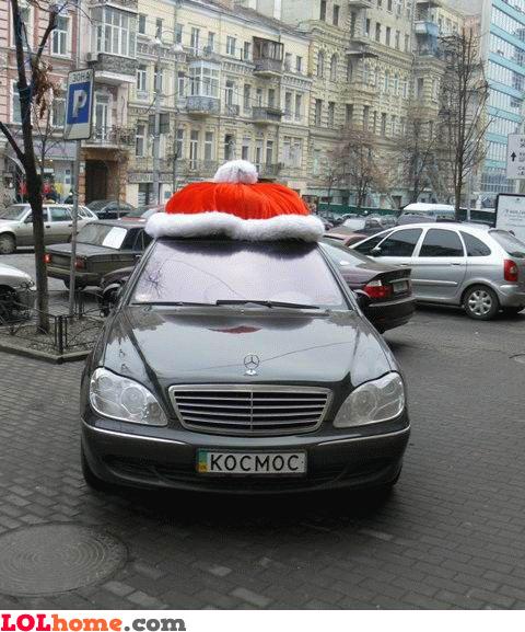 Santa's Mercedes