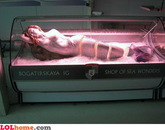 Sliced mermaid for sale