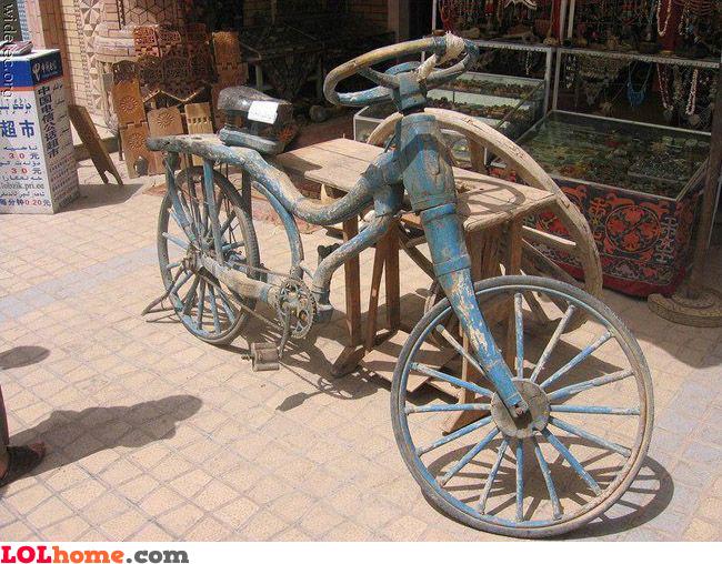 Ancient bike