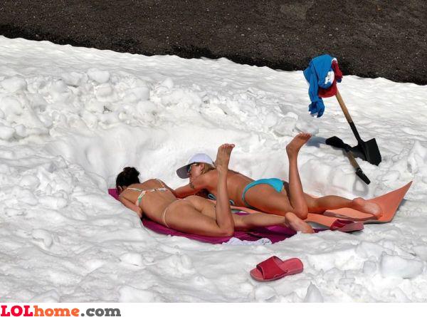 Great place to sunbathe