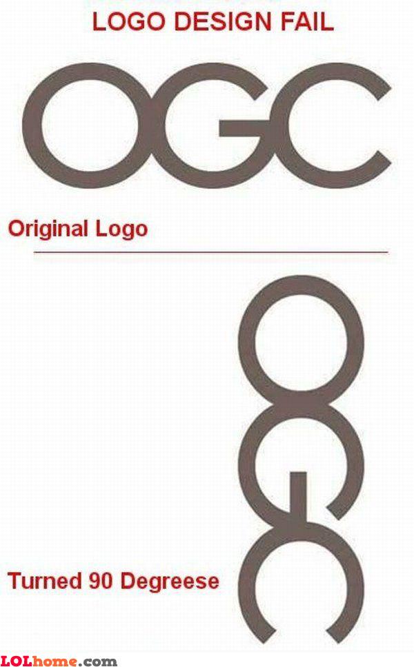 Logo design fail
