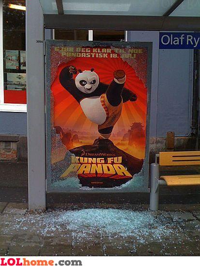 Kung Fu Panda did it