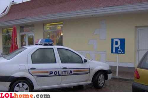 Disabled police