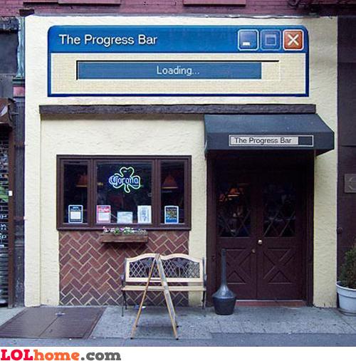 The Progress Bar Caffe