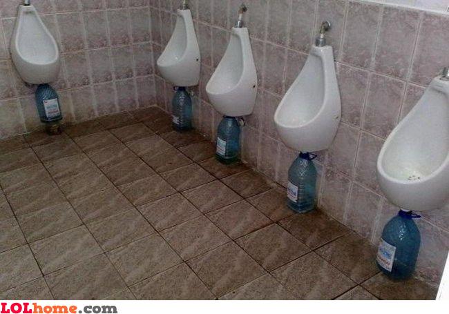 No plumbing