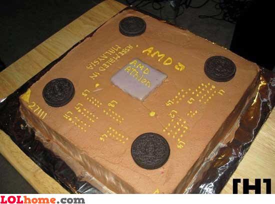 AMD cake