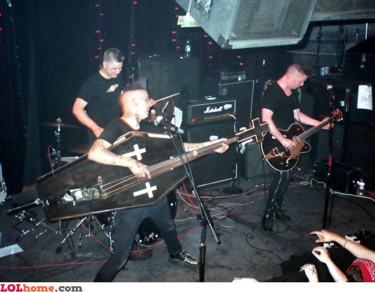 Gothic rock guitar