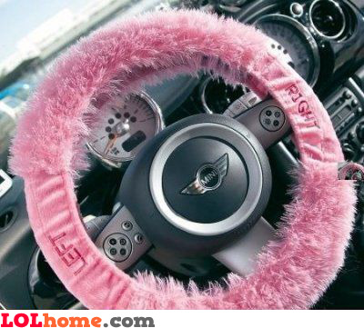 Steering wheel for blondes