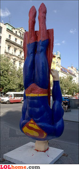 Superman after a few drinks