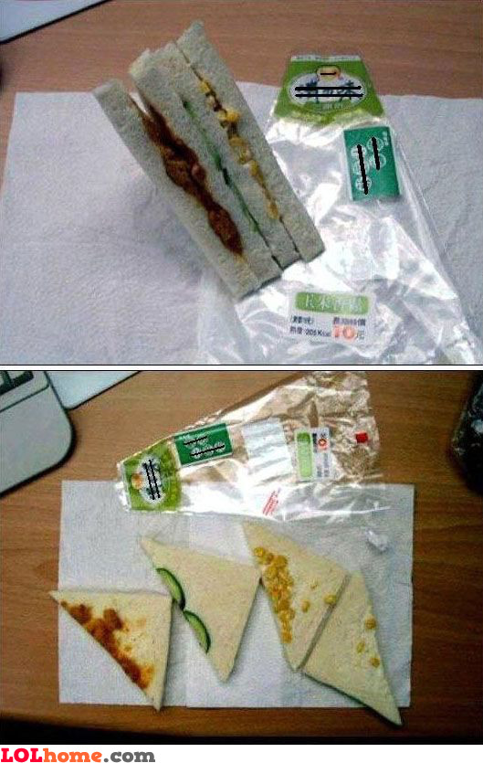 Cheap sandwich