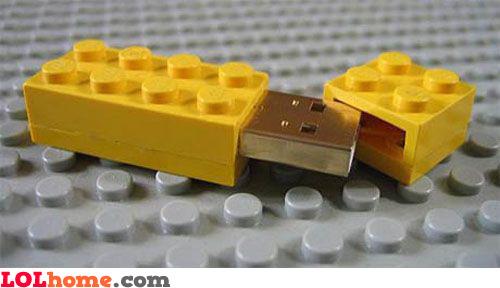 LEGO flash stick