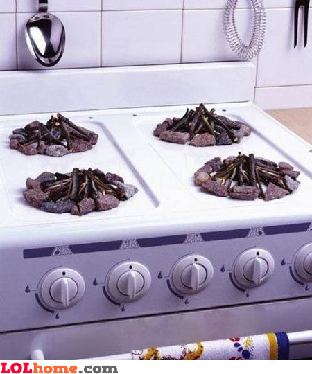 Manual stove