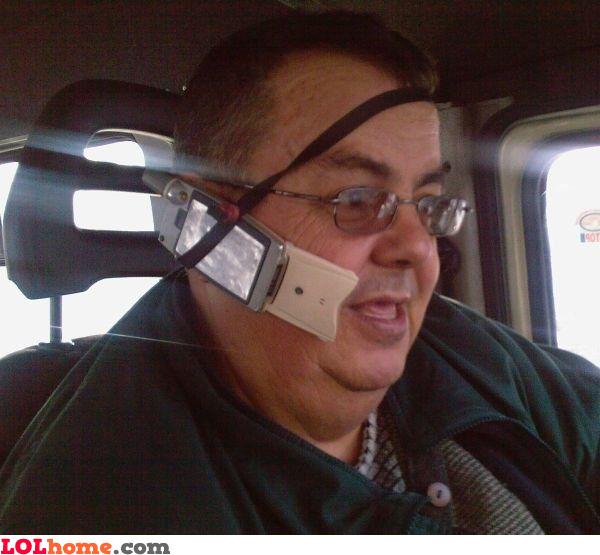 Cheap handsfree device