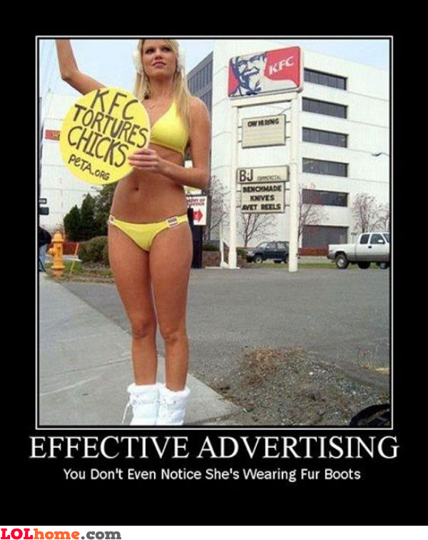 Effective advertising