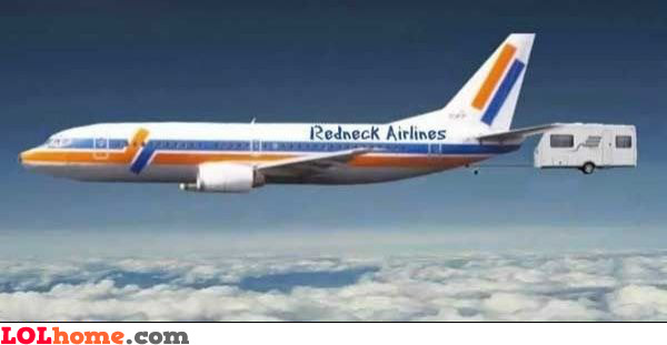 Fly with Redneck Airlines