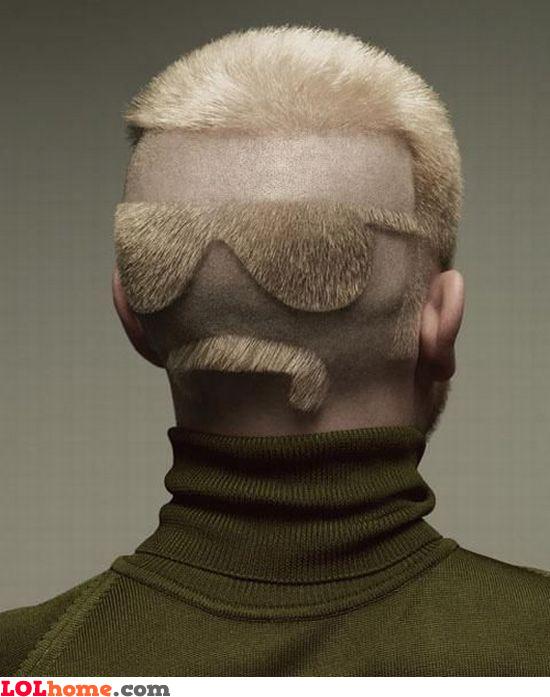 Backface haircut