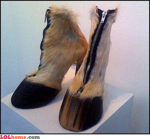 Animal footwear fashion
