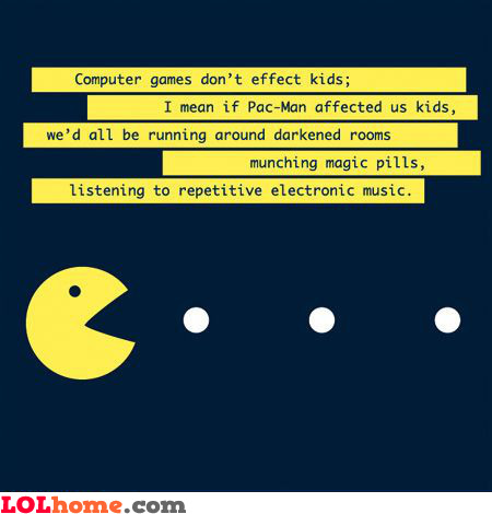 PacMan's effect