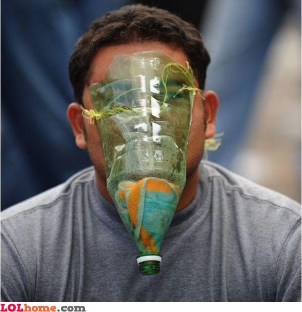 Cheap gas mask